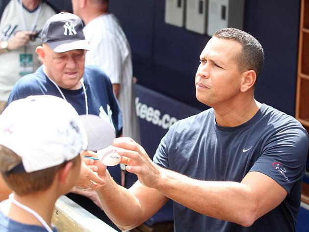 A-Rod comments on fan reception in New York, gets Saturday off …