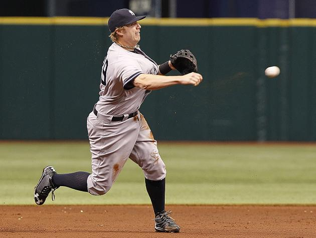 Mark Reynolds will start at second base for the Yankees on Wedn…