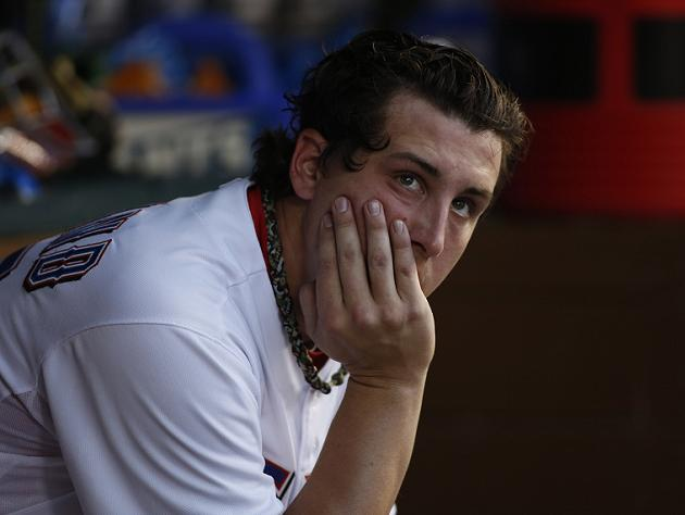 Derek Holland says dog 'Wrigley' to blame for fall at home