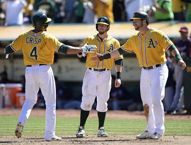 Coming up A's: Oakland clinches back-to-back AL West titles