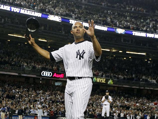 Exit Sandman: Mariano Rivera won't play this weekend in Houston
