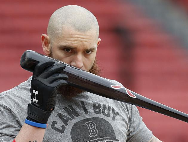 Jonny Gomes and Mike Carp in, Mike Napoli and Daniel Nava out f…