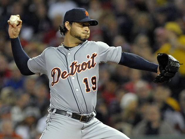 ALCS Game 1: Tigers throw combined one-hitter in 1-0 win over R…