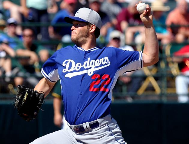 Dodgers place Clayton Kershaw on disabled list after back injur…