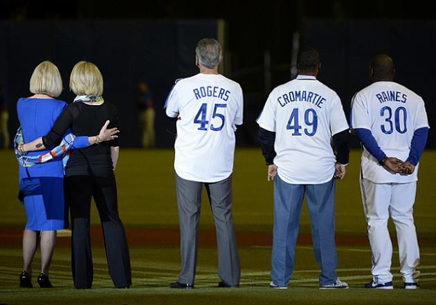 Gary Carter tribute highlights baseball's return to Montreal