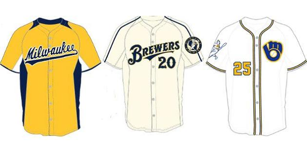 Brewers reveal finalists for uniform design contest