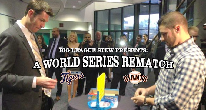 Giants vs. Tigers: A World Series rematch … in Connect 4 (Video…