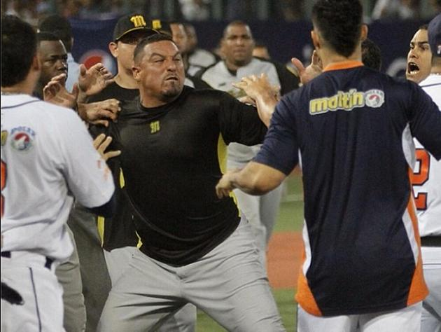 Carlos Zambrano involved in brawl during Venezuelan Winter Leag…