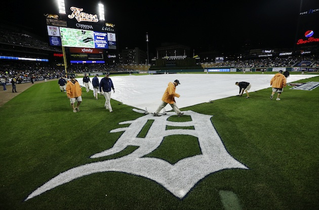 ALCS Game 4 postponed due to rain