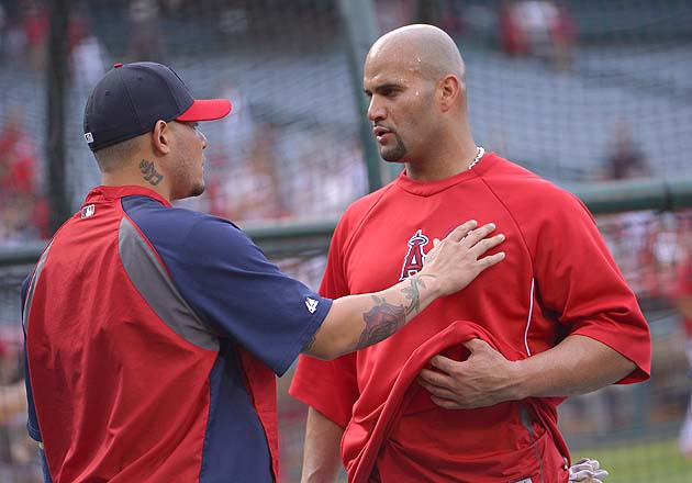 Albert Pujols 'fine' — he swears — after facing St. Louis Cardi…