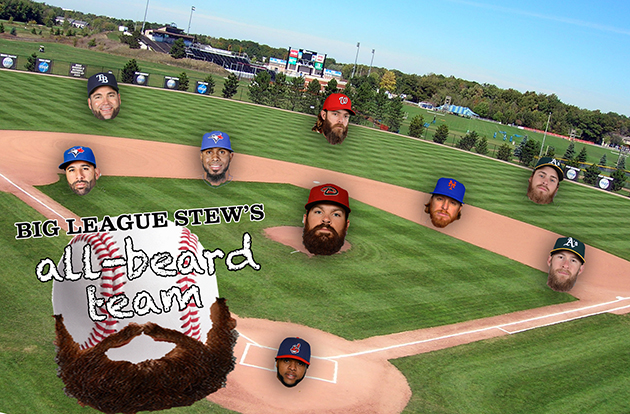 Big League Stew's All-Beard Team: Honoring baseball's best bear…