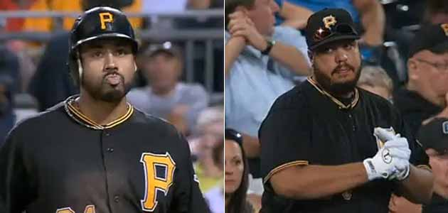 Pedro Alvarez fan looks a lot like Pedro Alvarez