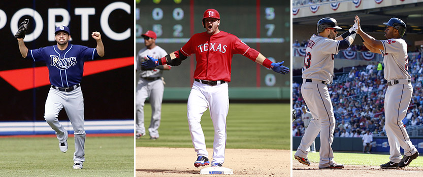 AL wild card: Indians clinch top seed, Rangers and Rays will me…