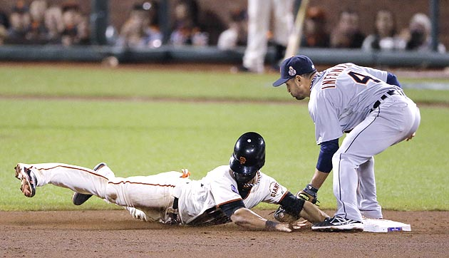 Free tacos! Angel Pagan steals base in World Series, activates …
