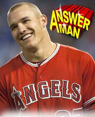 Answer Man: Mike Trout talks robbing home runs, MVP, endorsemen…