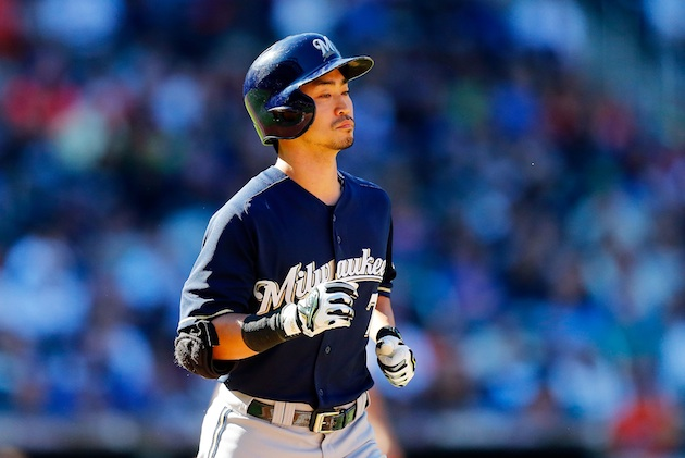 Royals acquire Norichika Aoki in a trade with Brewers, improvin…