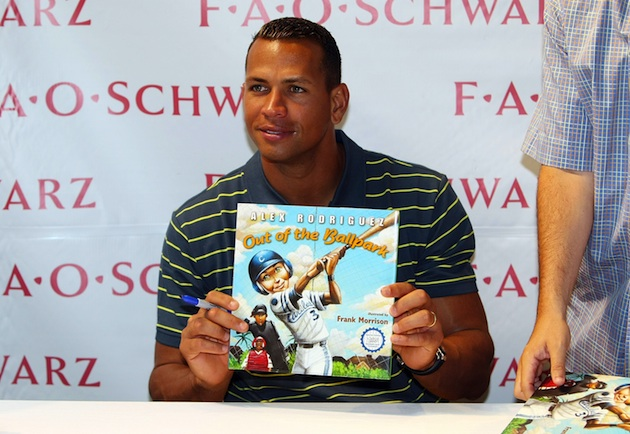 A-Rod reportedly close to a deal for a 'tell-all' book about hi…