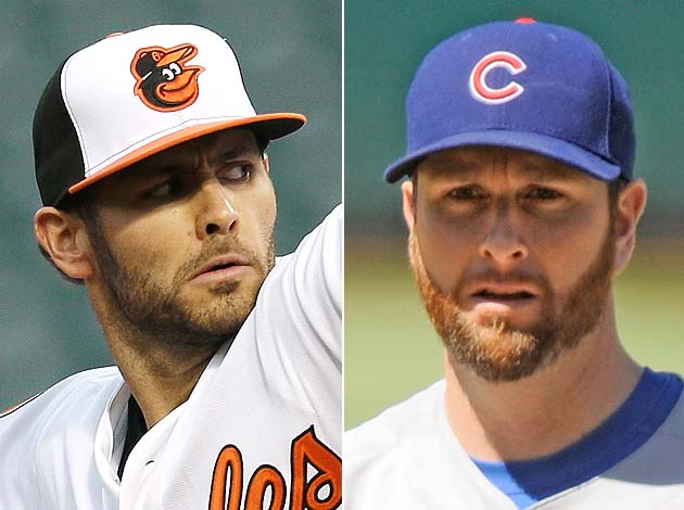 Trade! Orioles get Scott Feldman, Cubs get Jake Arrieta and Ped…