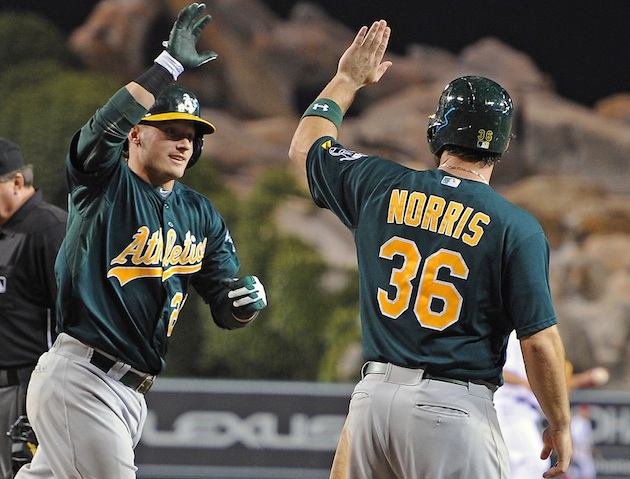 The Juice: The A's sweep the Angels, have now won eight in a ro…