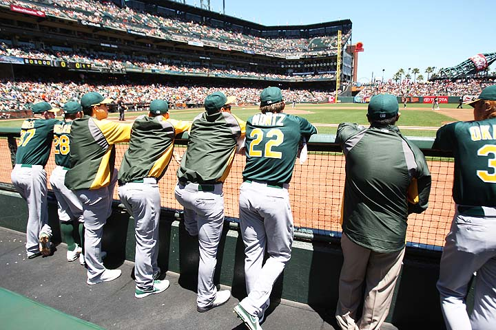 What if Athletics and Giants share AT&T Park in 2014?