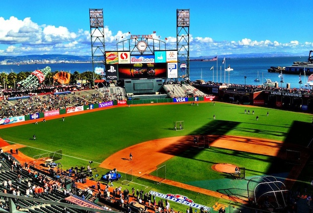 Led by AT&T Park, ballparks dominate Facebook's list of hig…