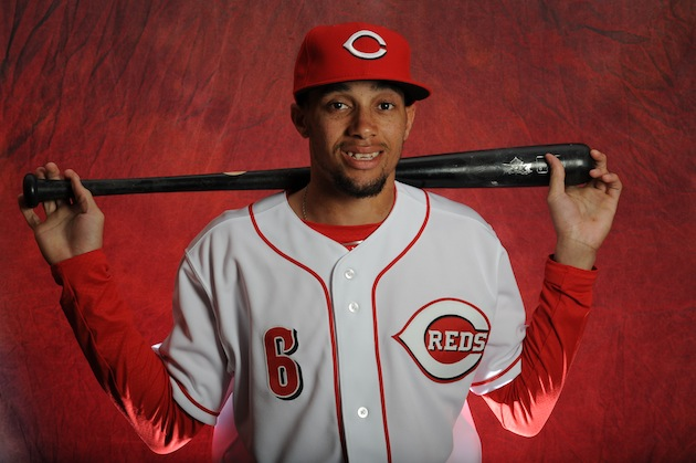 Reds speedster Billy Hamilton lives the fast life