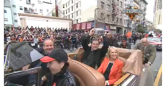 Giants parade: Bruce Bochy's Rolls Royce runs out of gas en rou…