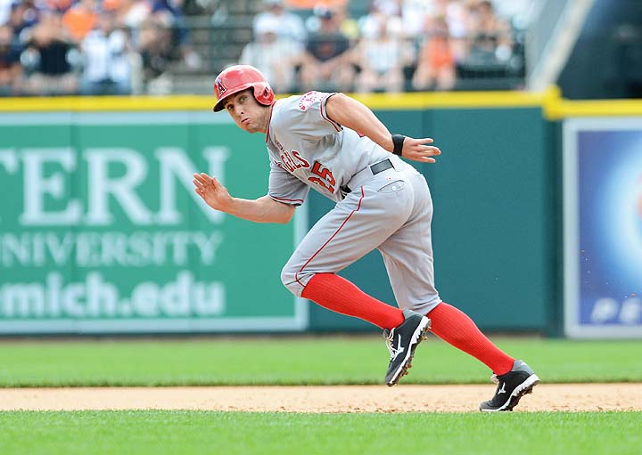 Peter Bourjos aims for 40 stolen bases — rare anymore for the S…