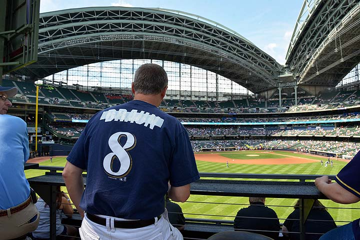 Ryan Braun faces fans in Milwaukee