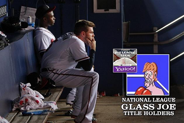 Upset! Upset! Upset! Atlanta Braves stuck with Glass Joe Title …