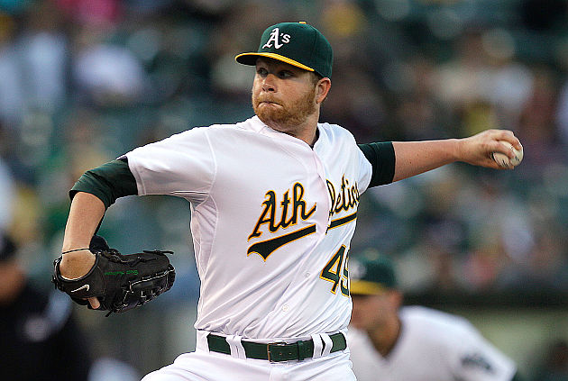 Athletics turn triple play in Brett Anderson's return (Video)