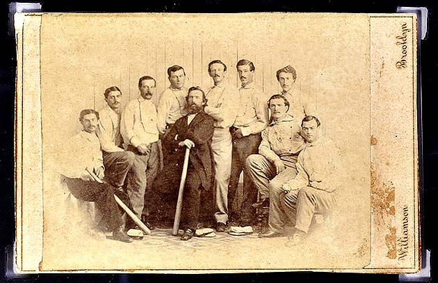 Brooklyn Atlantics 1865 baseball card auction could fetch $100,…