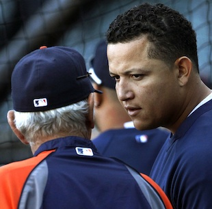 Miguel Cabrera gives excuse for quick exit after Game 3, but wi…