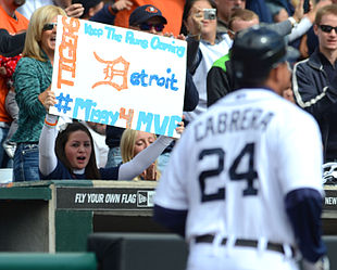 Miguel Cabrera favorite for MVP, Vegas odds say