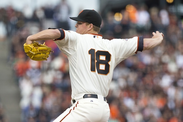 The Juice: Matt Cain gets first win as Giants sweep Dodgers; Ju…