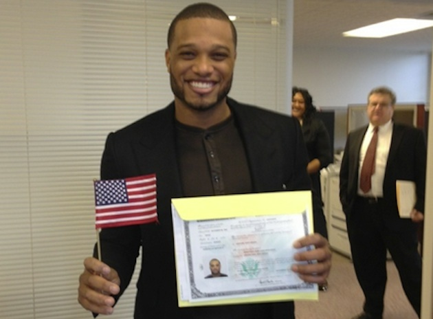 Robinson Cano becomes U.S. citizen (Photo)