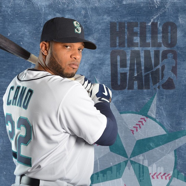 Robinson Cano introduced to Seattle — with a beard, No. 22 and …