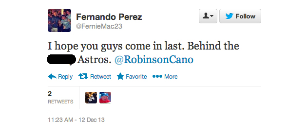17 angry Yankee fans who don't accept Robinson Cano's 'thank yo…