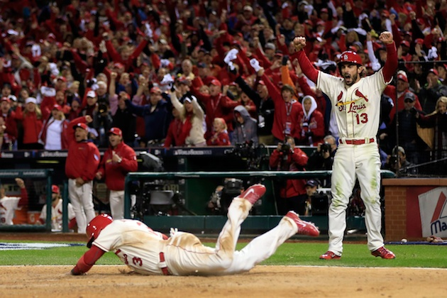 Matt Holliday's seventh inning double puts Cardinals back ahead…
