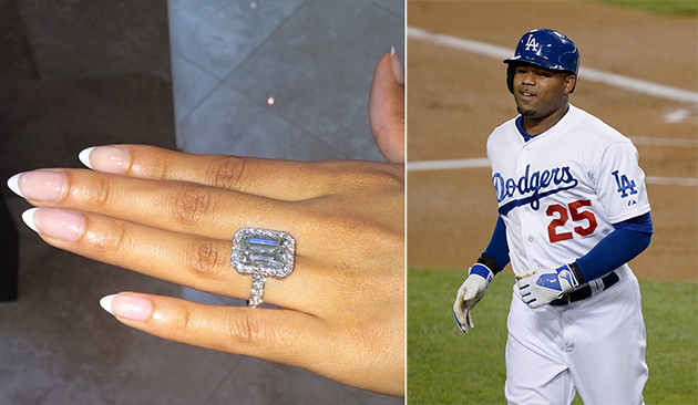 Carl Crawford gets engaged to reality TV star Evelyn Lozada, gi…