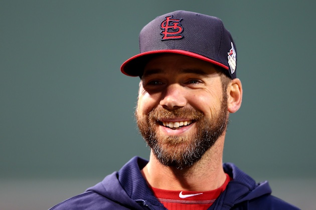 Chris Carpenter, sidelined by injury all season, is still a big…