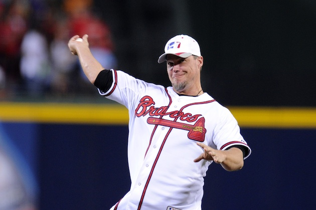 Report: Braves players shunned Chipper Jones after he picked Do…
