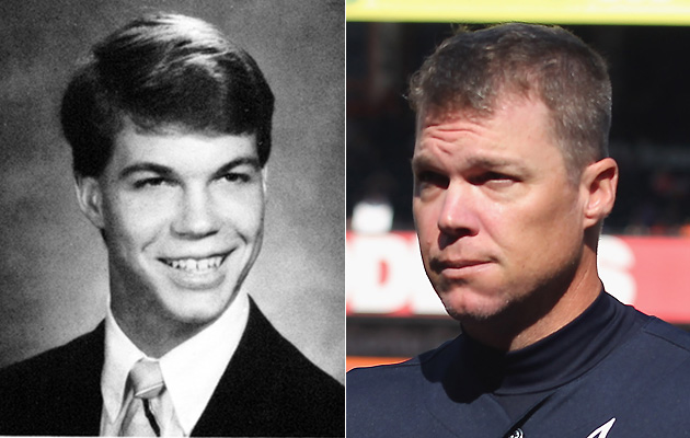 Chipper Jones pitching in high school (Video)