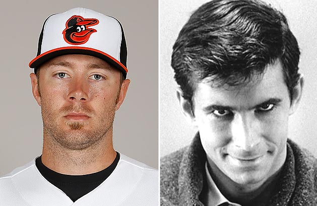 Chris Tillman looks 'a little Norman Bates,' Baltimore Orioles …