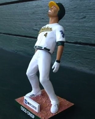 Win a Coco Crisp 'lean' bobblehead before they're handed out to…