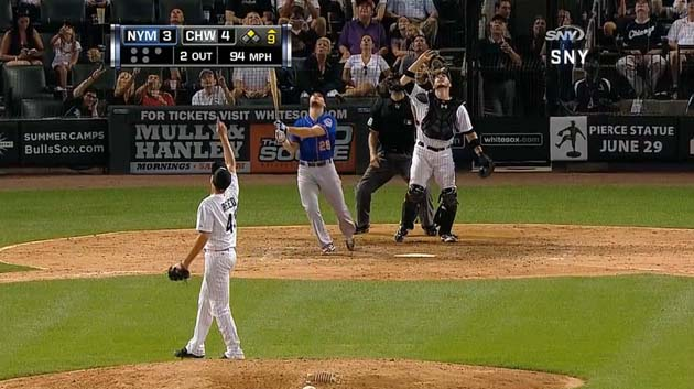 Momentous White Sox error makes Mets broadcaster Gary Cohen's v…