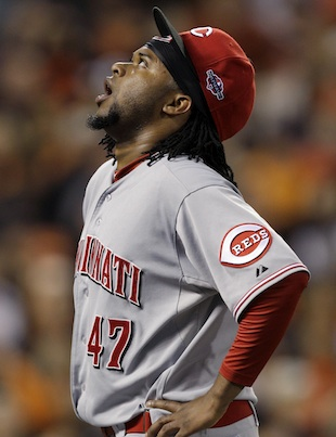 Johnny Cueto's oblique injury throws his postseason availabilit…