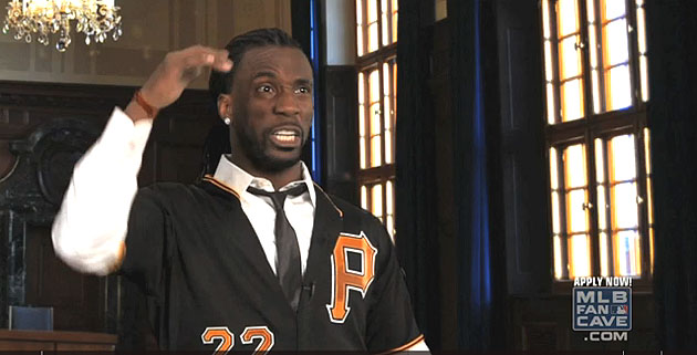 Andrew McCutchen performs hilarious Tom Cruise revue for MLB Fa…