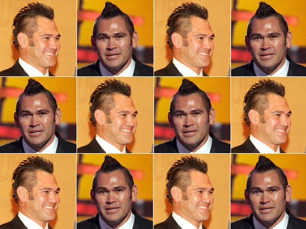 Johnny Damon's faux hawk has returned