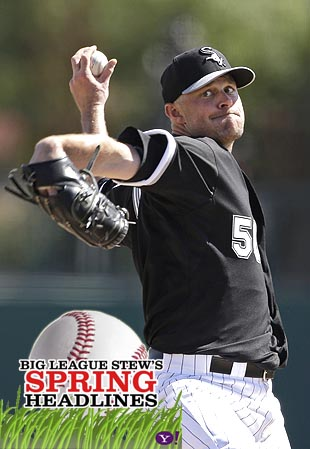 Spring Headlines: John Danks returns from shoulder surgery, Adr…